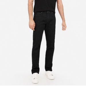 Express men's  slim straight black jeans 💕